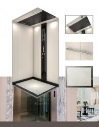 电梯结构类型对别墅家用电梯尺寸的影响